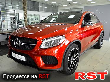 MERCEDES GLE 43 AMG 4MATIC Coupe 2018
