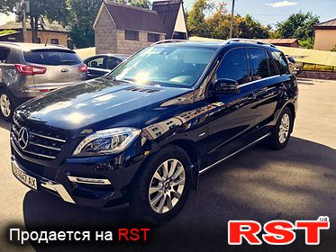 MERCEDES ML-Class BLUETEC 2012