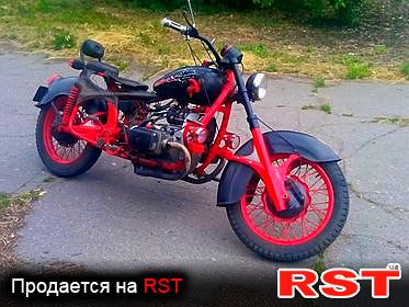 МОТО Кастом , обмен 1985