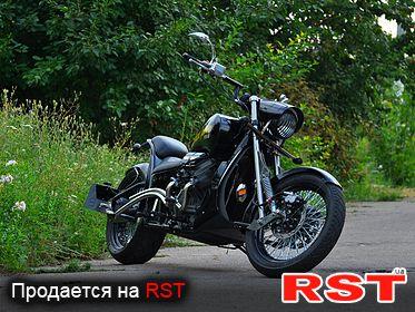 МОТО Кастом RUMIS Black Falcon 2019