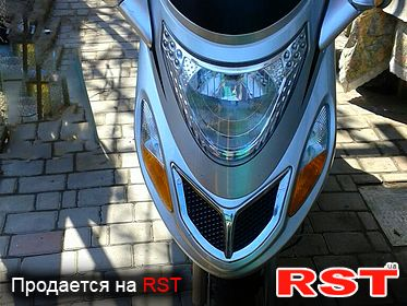 МОТО МАКСИ-СКУТЕР Suzuki F5 2018