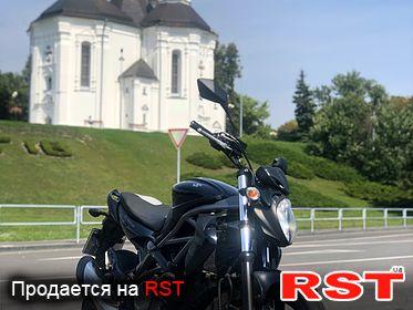 МОТО СТРИТБАЙК  SUZUKI gladius svf 650, обмен 2009