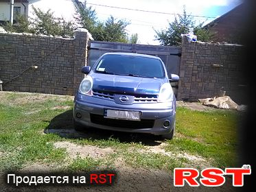 NISSAN Note TEKNA, обмен 2008
