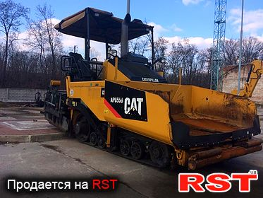 СПЕЦТЕХНИКА Асфальтоукладчик CATERPILLAR AP655D 2010