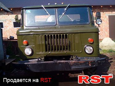 СПЕЦТЕХНИКА Ассенизатор газ 66 1985