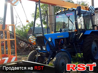 СПЕЦТЕХНИКА Автовышка МТЗ-80 Беларус 2012