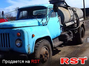 СПЕЦТЕХНИКА Бензовоз ГАЗ 5312 1988