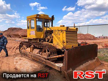 СПЕЦТЕХНИКА Бульдозер ЧТЗ T-130MT-1 1986