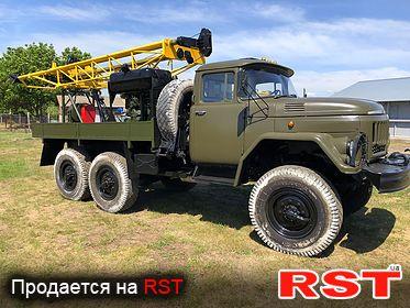 СПЕЦТЕХНИКА Буровая установка УГБ-1 ВС на базе ЗИЛ 131 1998
