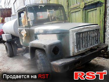 СПЕЦТЕХНИКА Цистерна  ГАЗ 53 АТЗ 4.23307 1994