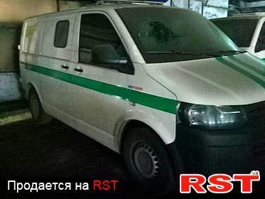 СПЕЦТЕХНИКА Инкассаторские авто Volkswagen Transporter 2013