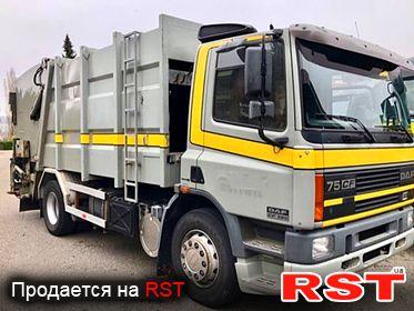 СПЕЦТЕХНИКА Мусоровоз DAF  CF 75.390 2002