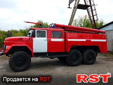 СПЕЦТЕХНИКА Пожарная ЗИЛ 131В 1979