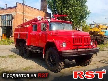 СПЕЦТЕХНИКА Пожарная Зил 131 1991