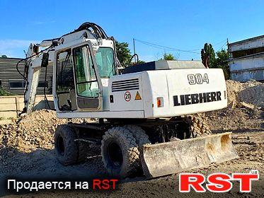 СПЕЦТЕХНИКА Экскаватор Liebherr  904 1998