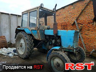 СПЕЦТЕХНИКА Трактор Мтз 80 1996