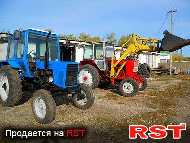 СПЕЦТЕХНИКА Трактор мтз-80  1994