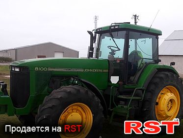 СПЕЦТЕХНИКА Трактор Johh Deere 1995