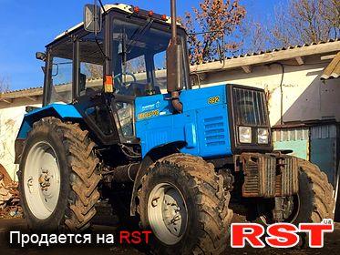 СПЕЦТЕХНИКА Трактор МТЗ 892 Беларус 2014