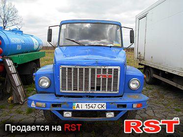 СПЕЦТЕХНИКА Водовоз ГАЗ 3307 1992