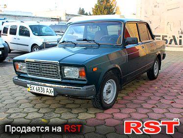 Продам ВАЗ 2107 в Хмельницком на RST. объявления авто базара ... 20f21f9bea879